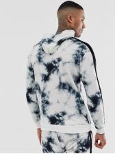 Chic Printed Long Sleeve Pullover Hoodie