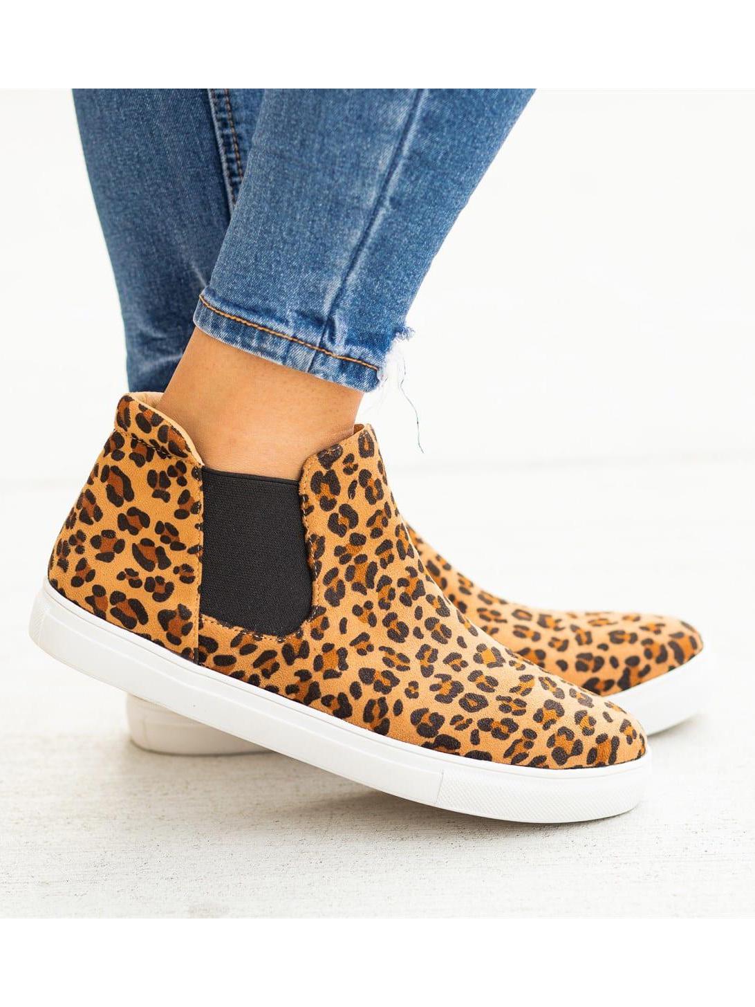 Fshion Animal Printed Slip On Shoes