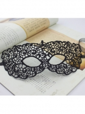 Lace Hollow Out Half Face Dance Mask For Women