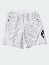 Contrast Color Printed Short Pants For Men