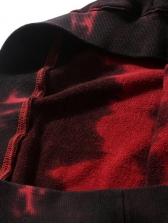 Hip Pop Tie Dye Striped Loose Sweatshirt