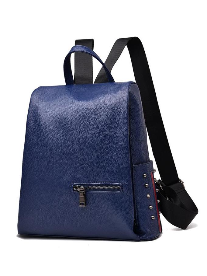 Side Rivets Decor Large Backpacks For Women