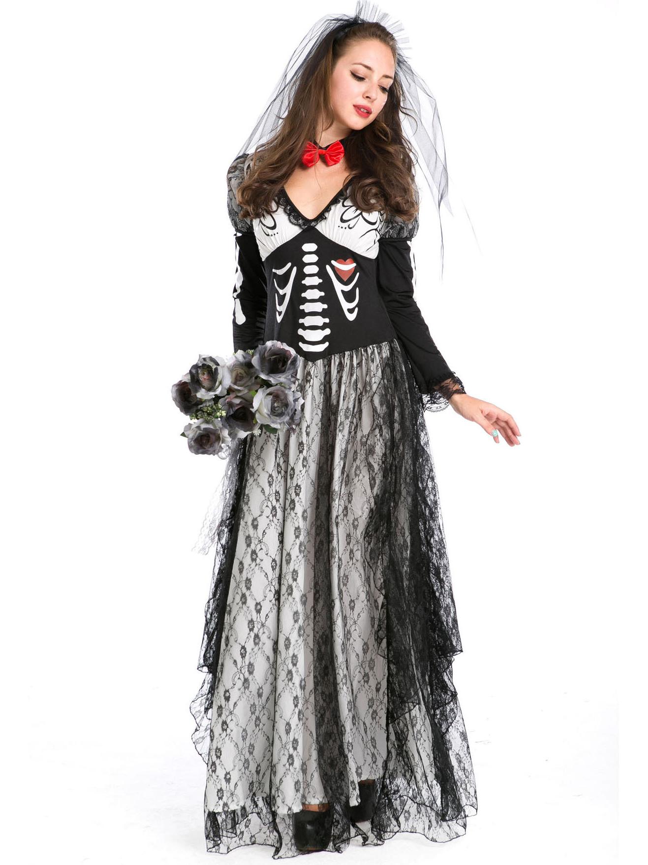 Halloween Boutique Gauze Maxi Dress Vampire Costume