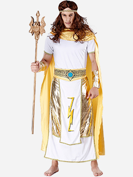 Egypt King Cosplay Long Robes Halloween Costumes