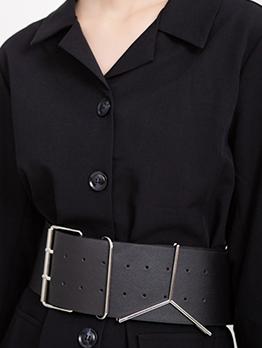 Simple Large Stylish Belt Womens