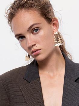 Stylish Geometric Drop Earrings For Women