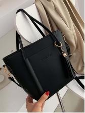 Minimalist Tassel Pendant Large Crossbody Handbags
