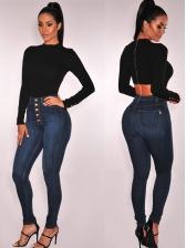 Sexy High Waist Skinny Ladies Jeans