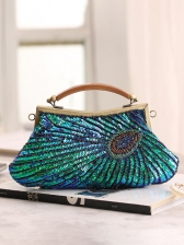 Vintage Style Glitter Sequined Tiny Beads Clutch Bags