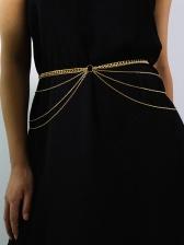 Vintage Multi Layer Chain Belt