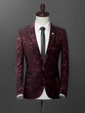 Formal Business Long Sleeve Men Suits