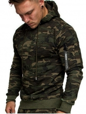 Fashion Camouflage Hoodies For Men