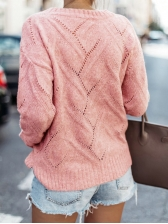 Winter Casual Hollow Ladies Sweater