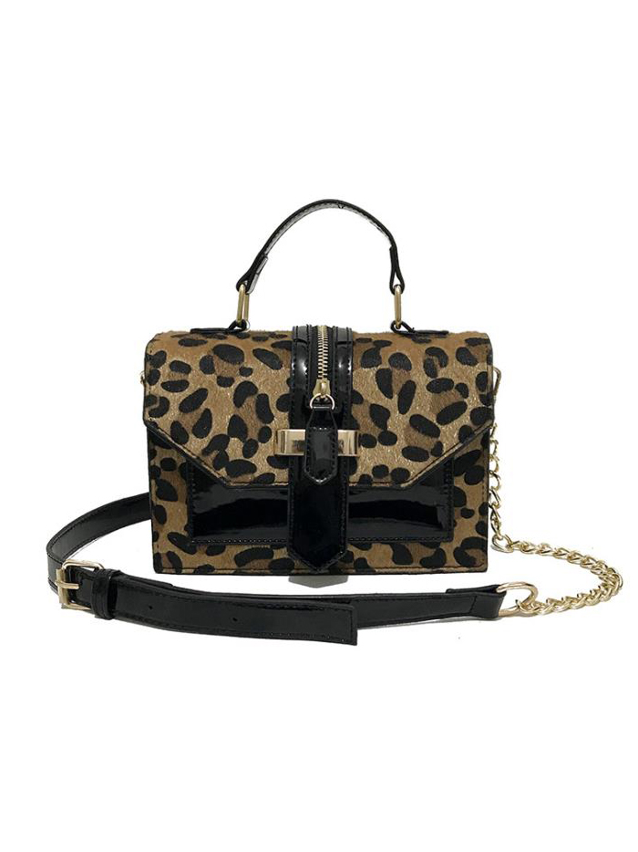 Easy Matching Chain Patchwork Belt Crossbody Bags