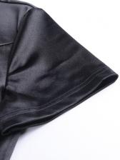 Retro Embroidery Cheongsam Short Sleeve Dress