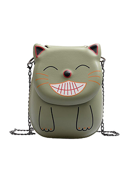 Cute Style Cat Shape Small Chain Crossbody Bags