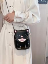 Cute Style Cat Shape Small Chain Crossbody Bags