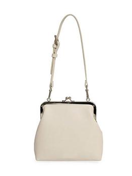 Simple Adjustable Belt Solid Crossbody Shoulder Bag