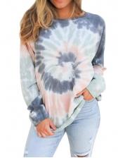 Tie Dye Long Sleeve Sweatshirt