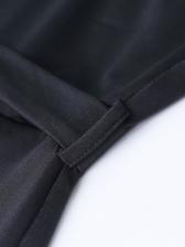 One Shoulder Solid Wide Leg Jumpsuit