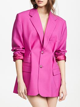 OL Style Long Sleeve Casual Blazer
