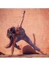 Polka Dots High Waist Yoga Sets For Women