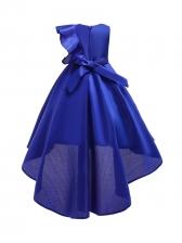 Sequined Ruffled Princess Girl Flower Dress