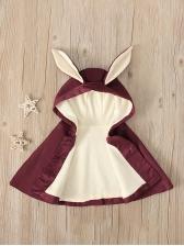 Rabbit Design Cloak Girls Coats