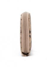 Trendy Snake Print Rectangle Ladies Clutch Purse