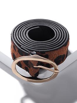 Fashion Elliptic Buckle Belts For Women