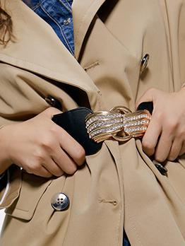 Chic Rhinestone Decor Belts For Women