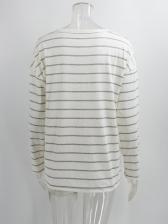 Versatile Striped Long Sleeve t Shirts For Women