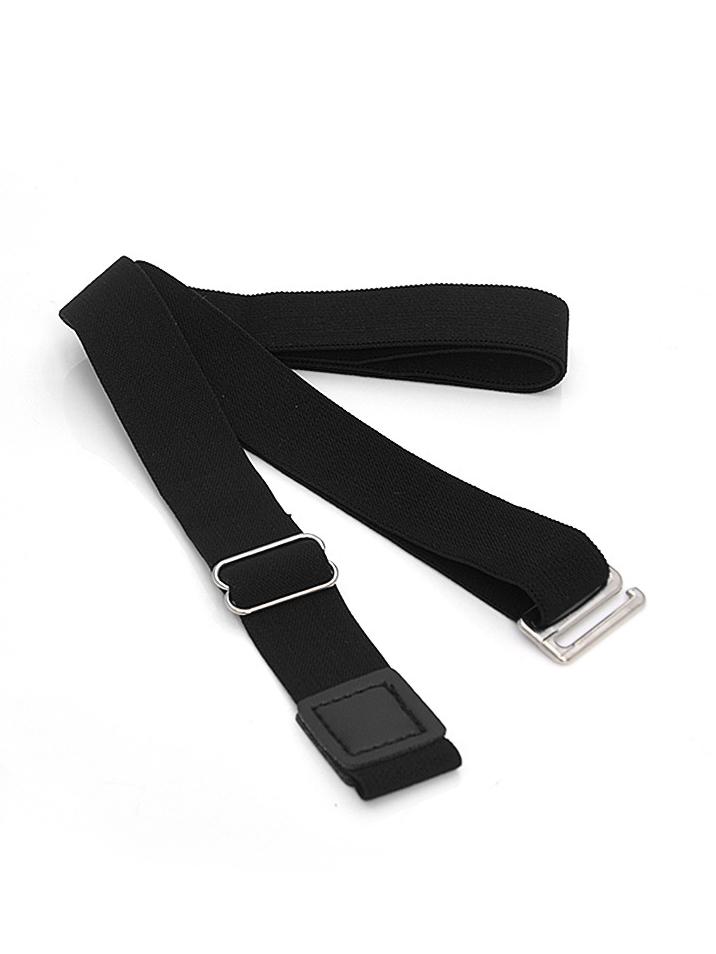 Retro Style Solid Elastic Ladies Waist Belt