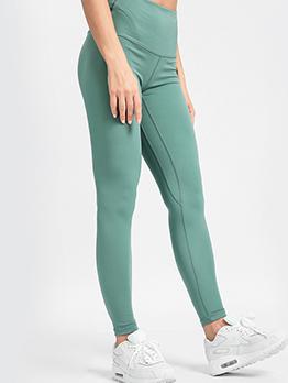 High Elastic Skinny Solid Ladies Yoga Pants