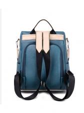 Stitching Color Detachable Belt Backpacks For Women