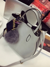 Factory Outlet Solid Hasp With Ball Two Pieces Bag