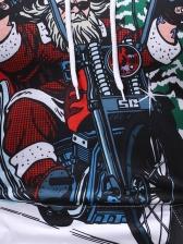 Christmas Santa Snow Printing 3D Men Hoodie