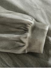Punk Irregular Long Sleeve t Shirts For Men