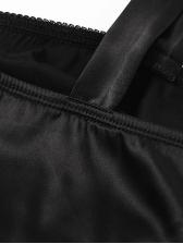 Fashion Skinny Black Sleeveless Mini Dress