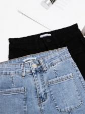 Smart Waist wide Leg Jeans