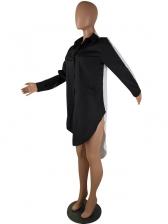 Hot Sale Blending Long Sleeve Dress