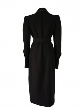 Puff Sleeve Double-Breasted Blazer Dress For Women