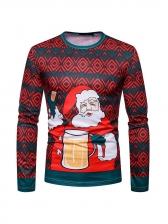 Christmas Winter SantaClaus t Shirt Printing