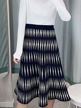 Vintage Color Splicing Poodle Skirt