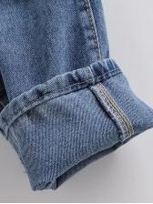 Smart Waist Blue Jogger Jeans