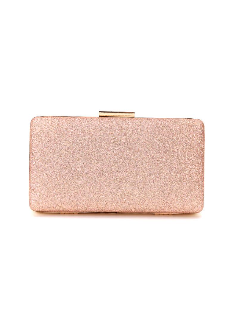 Evening Glitter Hasp Clutch Bags
