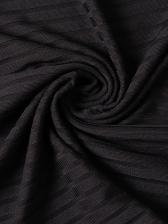 Crew Neck Patchwork Flare Sleeve Bodycon Dress