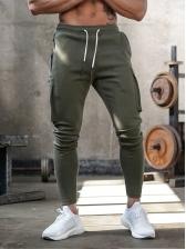 Sporty Outdoors Pockets Men Pants