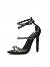 Sexy Rhinestone Straps Sandals For Girls