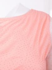 Backless Glitter Long Sleeve Bubble Dress